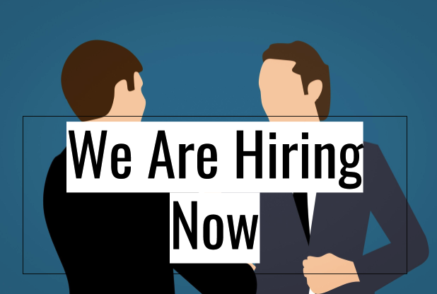 we are hiring now